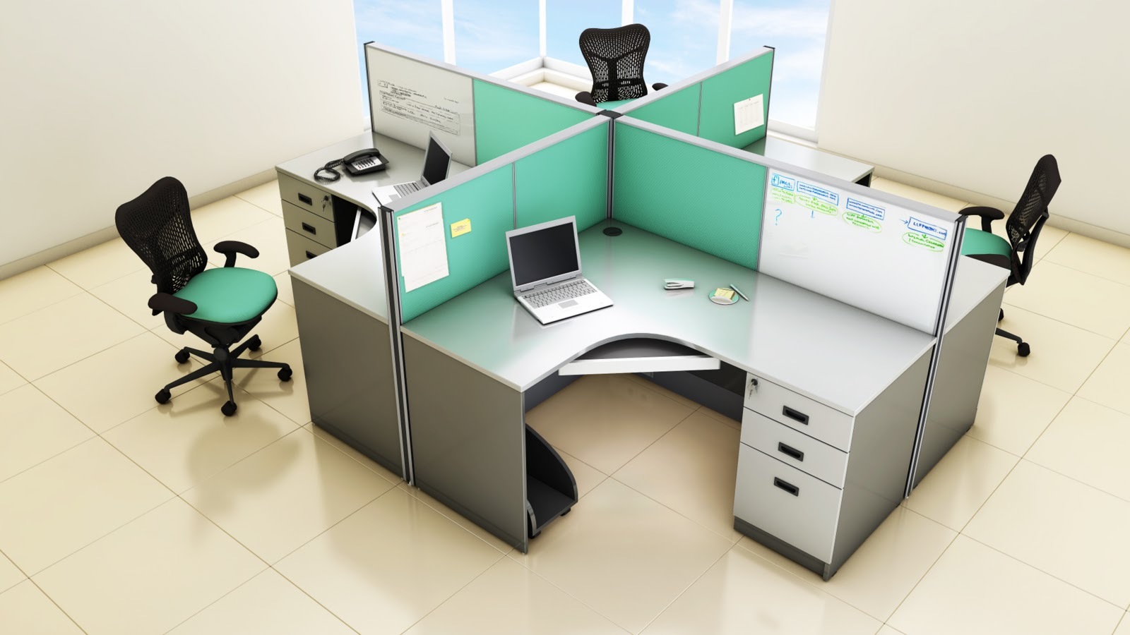 Modular Partition Manufacturers In Chennai Modular Cluster Workstation In Chennai